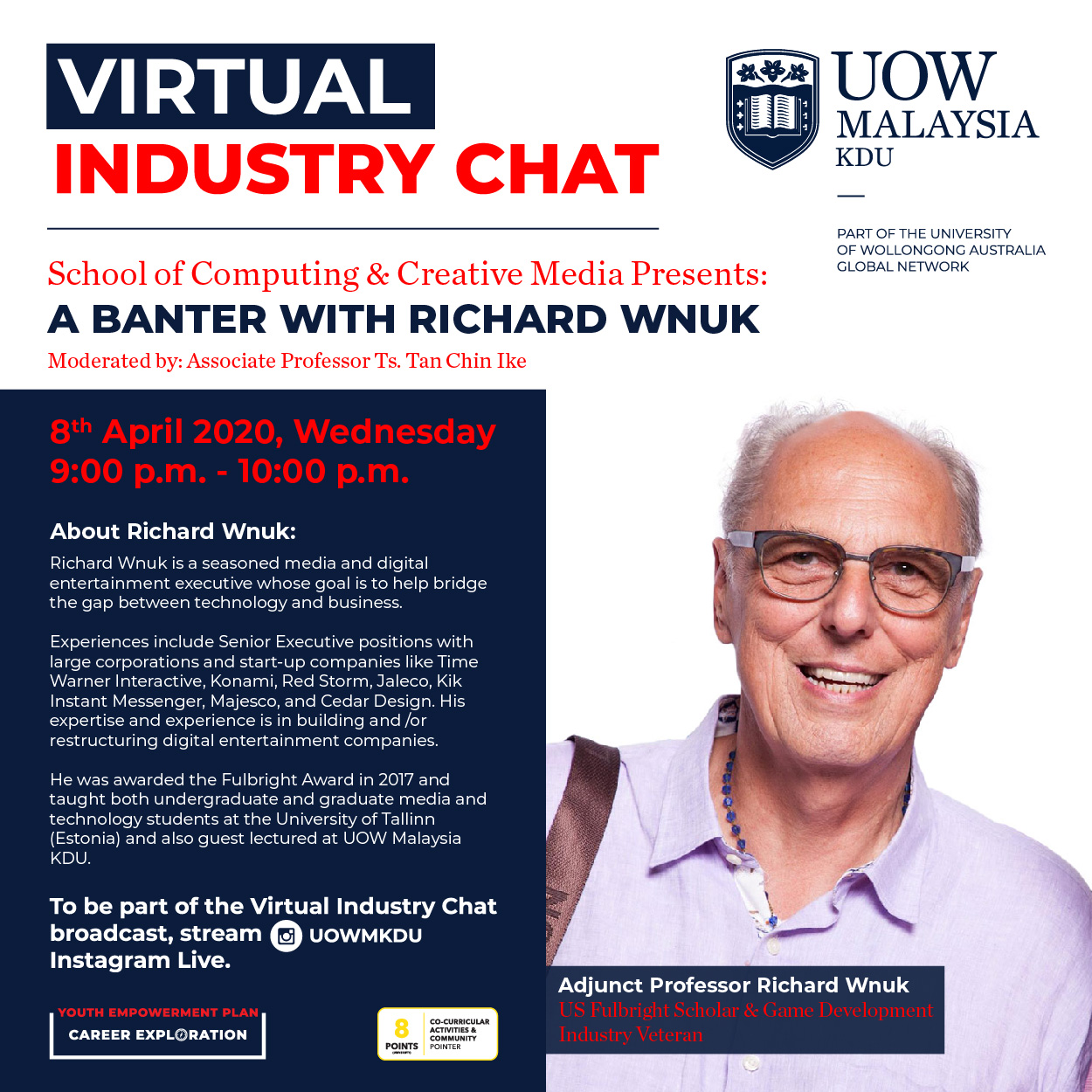 UOW Malaysia KDU Industry Chat